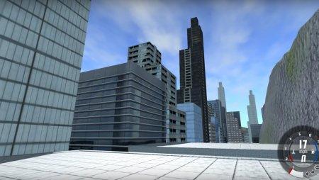 Скачать мод карта Generic City для BeamNG Drive