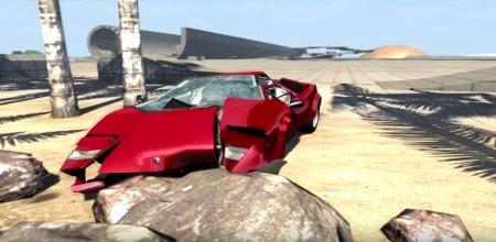 Скачать мод Lamborghini Countach LP500 для BeamNG Drive