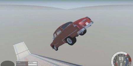 Скачать мод карта Ski jumping 1.2 для BeamNG Drive 0.5.6.1+