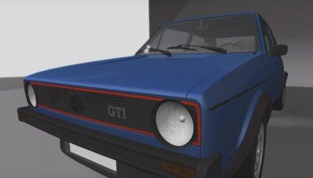 Скачать мод Volkswagen Golf MK-1 для BeamNG Drive 0.6.1+