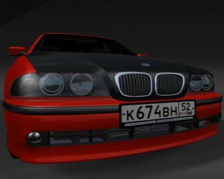 Скачать машину BMW 525i Drift для BeamNG Drive 0.5.5