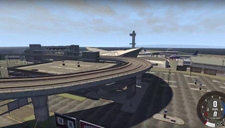 Скачать мод карта Francis International Airport (GTA IV) для BeamNG Drive