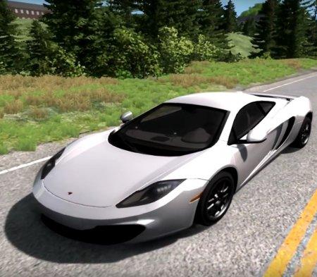 Скачать мод McLaren MP4-12C для BeamNG Drive 0.3.6.9+