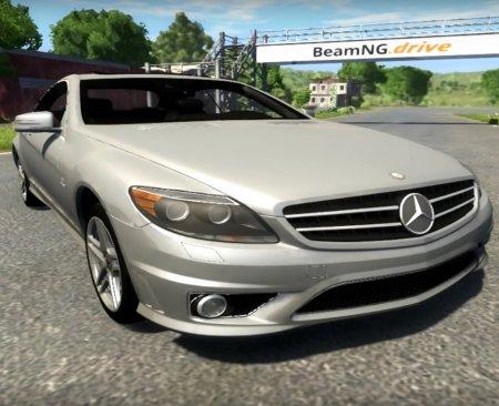 Скачать мод машина Mercedes-Benz CL65 AMG для BeamNG Drive
