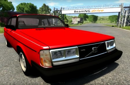Скачать мод Volvo 242 Turbo Evolution для BeamNG Drive