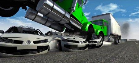 Скачать мод Renault Megane для BeamNG Drive 0.7+