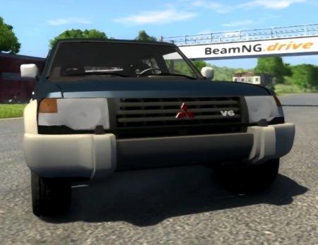 Скачать мод 1993 Mitsubishi Pajero для BeamNG Drive
