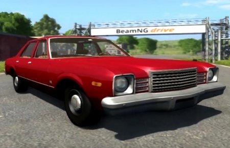 Скачать мод орудие Dodge Aspen для BeamNG Drive