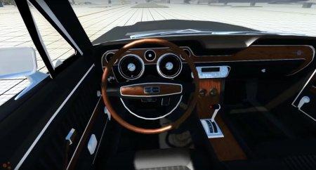 Скачать мод Ford Mustang Shelby Eleanor 1967 для BeamNG Drive