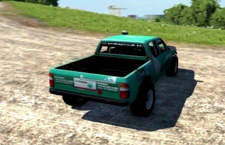 Скачать мод Ford Ranger для BeamNG Drive