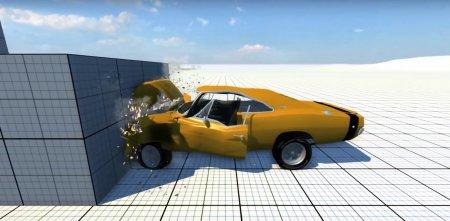 Скачать мод Dodge Charger RT 1969 для BeamNG Drive