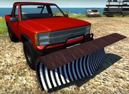 Скачать мод автомашина Gavril D-Series Snow Plow для BeamNG Drive