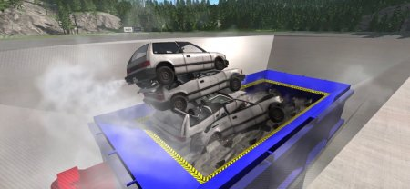 Скачать мод BKL Car Crushing Facility для BeamNG Drive 0.7+