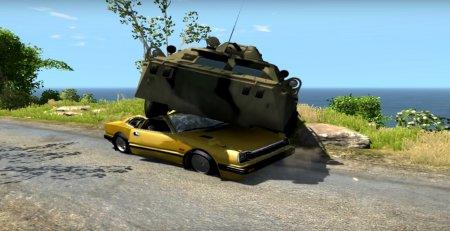 Скачать мод БТР-80 v2.1 для BeamNG Drive