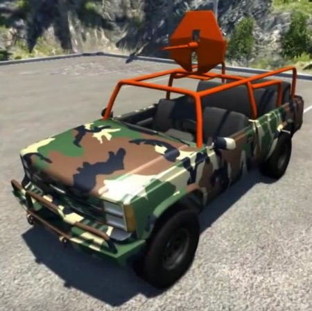 Скачать мод African Rebel Pickup Truck для BeamNG Drive