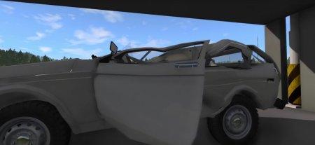 Скачать мод Car Crusher для BeamNG Drive 0.7+
