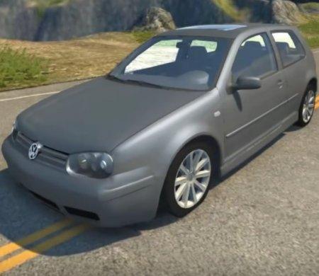 Скачать мод Volkswagen Golf Mk4 для BeamNG Drive