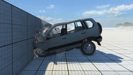 Скачать мод Chevrolet Niva для BeamNG Drive