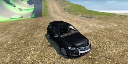 Скачать мод Volkswagen Touareg R50 для BeamNG Drive
