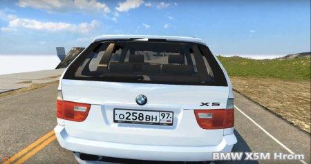 Скачать мод BMW X5M Hrom для BeamNG Drive