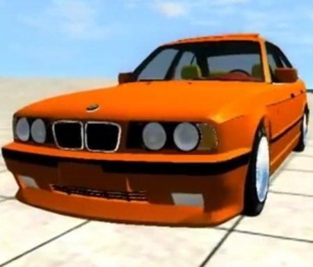 Скачать мод BMW 540i E34 DRIFT для BeamNG Drive