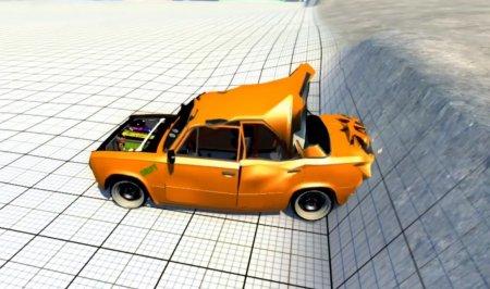 Скачать мод ВАЗ 2101SR для BeamNG Drive