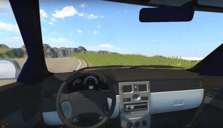 Скачать мод Лада Priora Универсал для BeamNG Drive