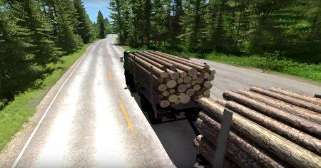 Скачать мод 8x8 Heavy utility truck для BeamNG Drive
