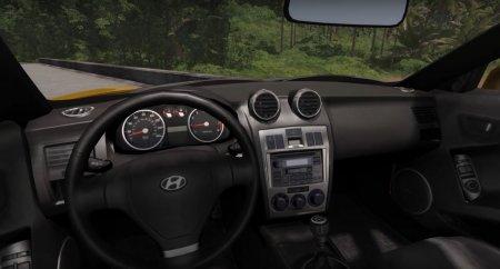 Скачать мод Hyundai Tiburon V6 Coupe 2003 для BeamNG Drive 0.5.2+