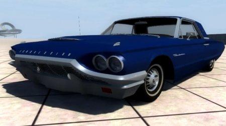 Скачать мод автомат Ford Thunderbird 0964 для BeamNG Drive
