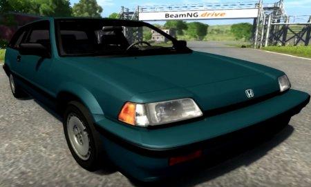 Скачать мод Honda Civic Si 1986 для BeamNG Drive