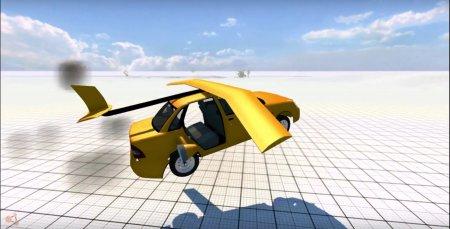 Скачать мод Priora Plane для BeamNG Drive