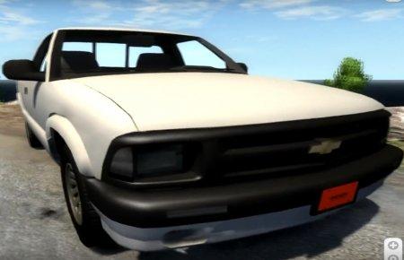 Скачать мод Chevrolet S-10 Draggin 1996 для BeamNG Drive