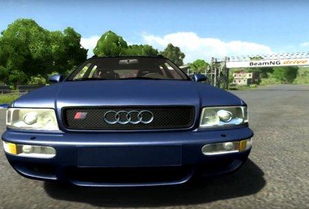 Скачать мод Audi RS2 Avant для BeamNG Drive