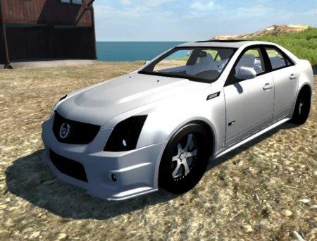 Скачать мод Cadillac CTS-V для BeamNG Drive