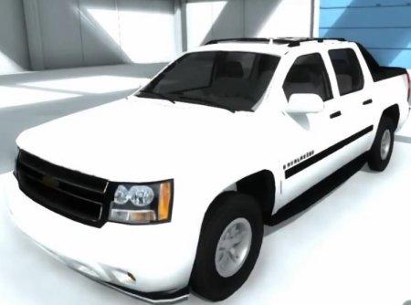 Скачать мод Chevrolet Avalanche для BeamNG Drive