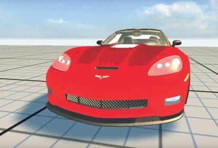 Скачать мод Chevrolet Corvette ZR1 2010 для BeamNG Drive