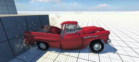 Скачать мод Chevrolet Apache 1958 Fleetside для BeamNG Drive