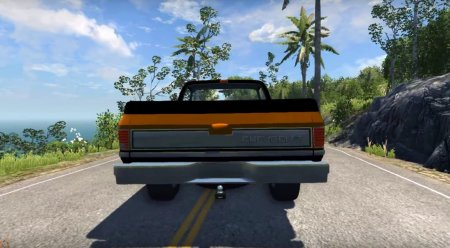 Скачать мод Chevrolet Silverado 1500 1986 для BeamNG Drive