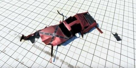 Скачать мод машина Grinder для BeamNG Drive