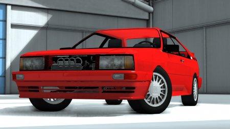Скачать мод 1988 Audi Quattro для BeamNG Drive 0.8+