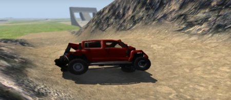 Скачать мод Hummer H3 для BeamNG Drive