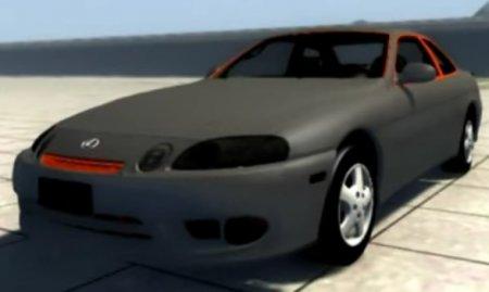 Скачать мод Lexus SC300 для BeamNG Drive