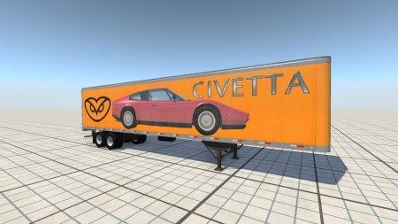 Скачать мод Пак Car Carrier Dry Van Skin Pack 2.1 для BeamNG Drive 0.8+