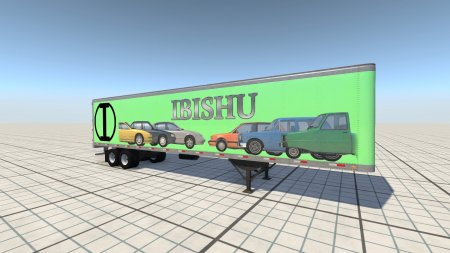 Скачать мод Пак Car Carrier Dry Van Skin Pack 2.1 для BeamNG Drive 0.8+