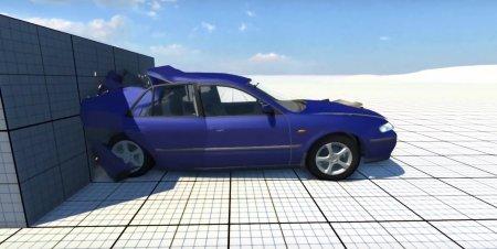 Скачать мод Mazda 626 для BeamNG Drive
