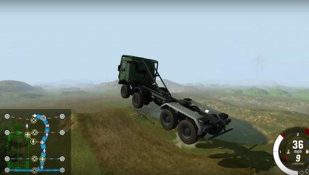 Скачать мод 8x8 Heavy utility truck v2.0 для BeamNG Drive