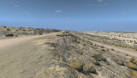 Скачать мод карта «Off Road Open Desert Trails» версия 1.2 для BeamNG Drive v. 0.12-0.13