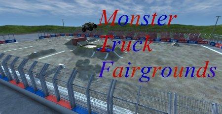 Скачать мод карта «Monster Truck Fairgrounds» версия 3 для BeamNG Drive v.  ...