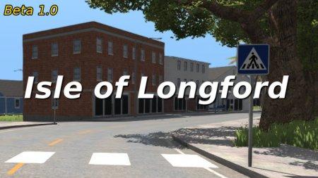 Скачать мод карта «The Isle of Longford» для BeamNG Drive v. 0.12